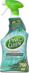 Pine O Cleen Multi Purpose Cleaner Spray Fresh Eucalyptus for Grease and Grime, 750ml