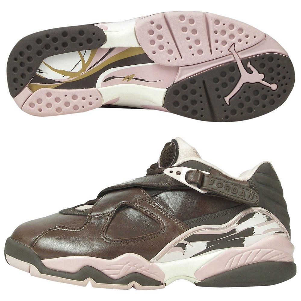 online store 5b42d f014c Nike Air Jordan 8 Retro Low Brown Shoes Womens: Amazon.co.uk ...