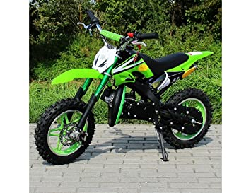 ORION Mini Cross 49cc 2 tiempos Mono Gear: velocidad ajustable, motor de arranque de