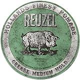 REUZEL Pomade Green Grease Medium Hold, 1er Pack (1 x 113 g)