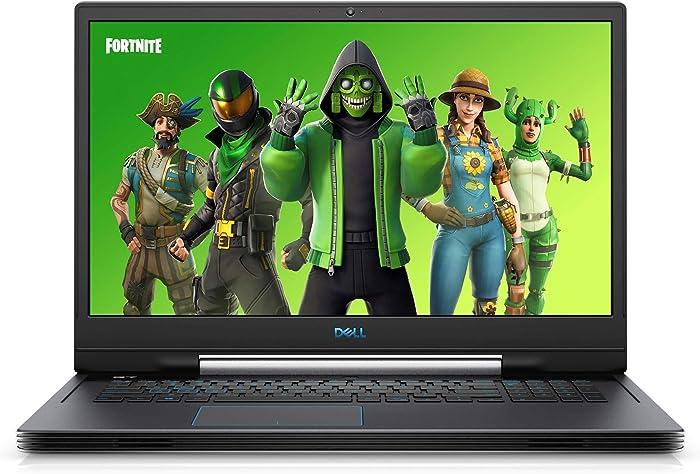 "Dell G7 17 Gaming Laptop (Windows 10 Home, 9th Gen Intel Core i7-9750H, NVIDIA GTX 1660 Ti 6G, 17.3"" FHD LCD Screen, 512GB SSD, 16 GB RAM) G7790-7662GRY-PUS"