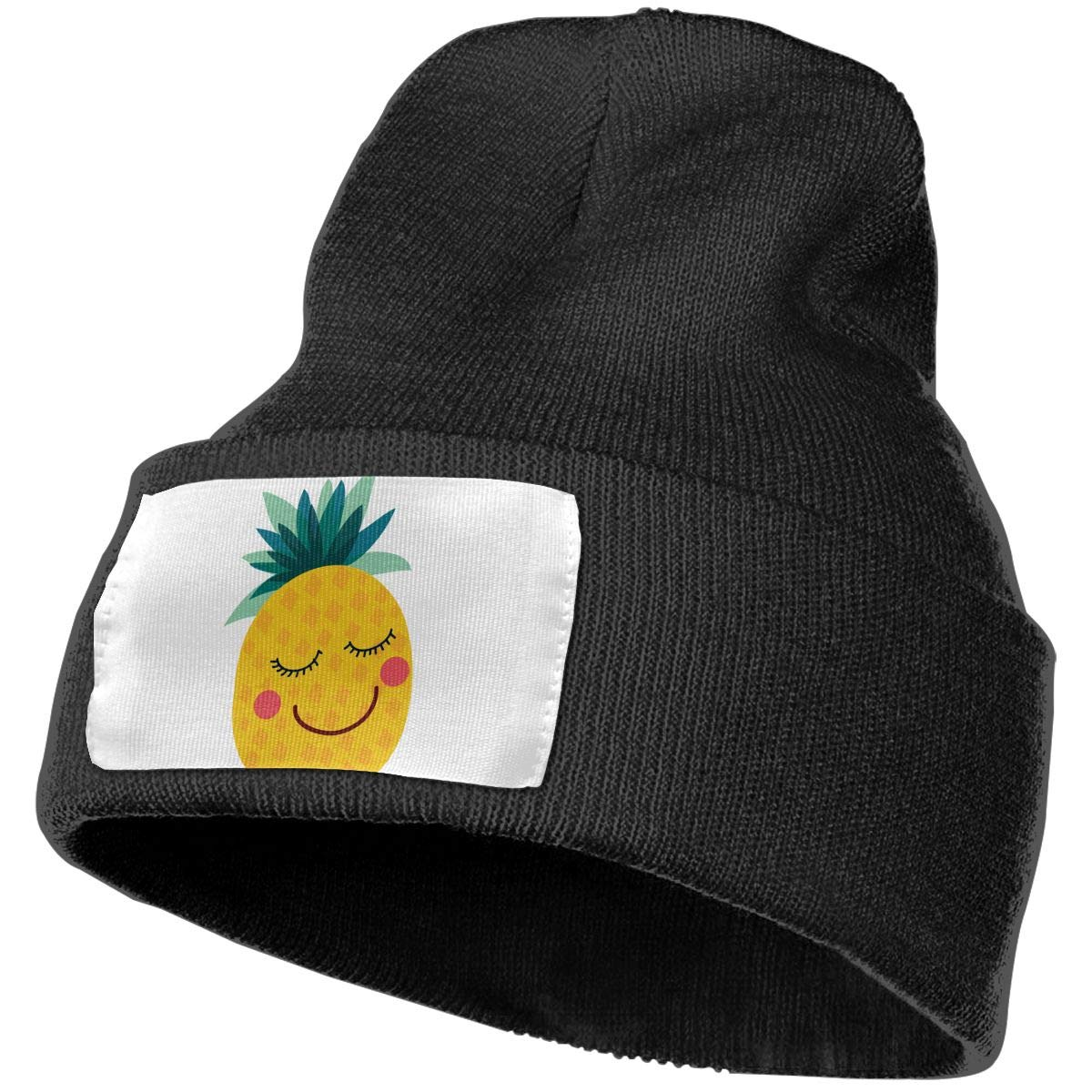 QZqDQ Lovely Pineapple Unisex Fashion Knitted Hat Luxury Hip-Hop Cap