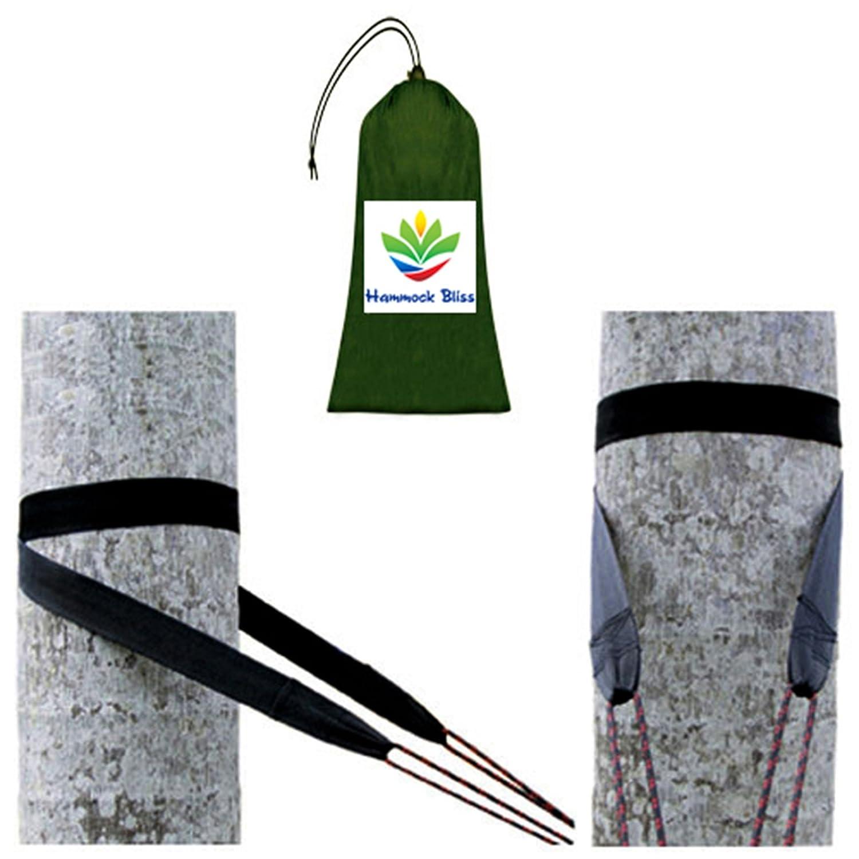 amazon com hammock bliss tree straps hang any hammock with ease