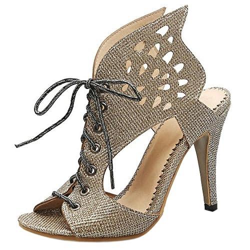Alto Coolcept Mujer ZapatosAmazon Y esZapatos Tacon Sandalias UVGLpqzSM