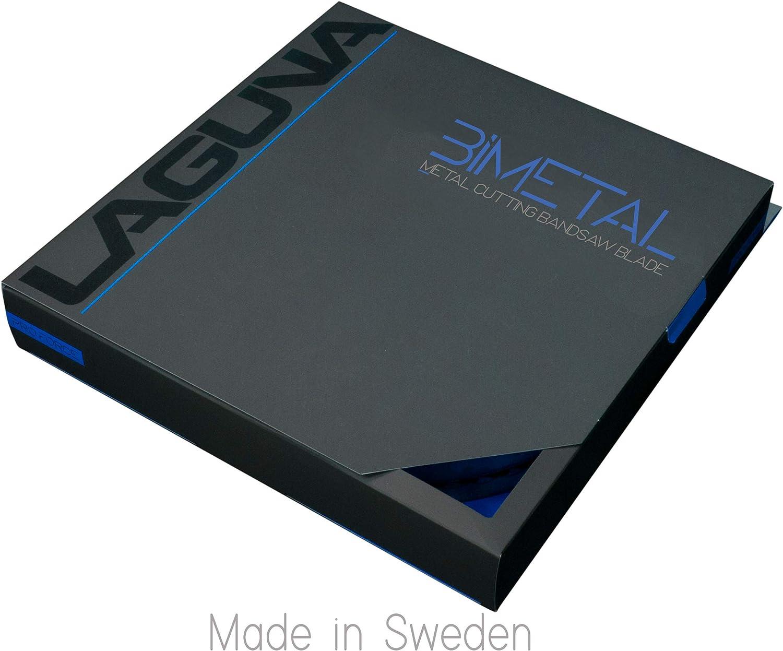 "1//4/"" X 10-14 TPI X 93/"" Bimetal BandSaw Blade Laguna Tools Metal Cutting Blade"