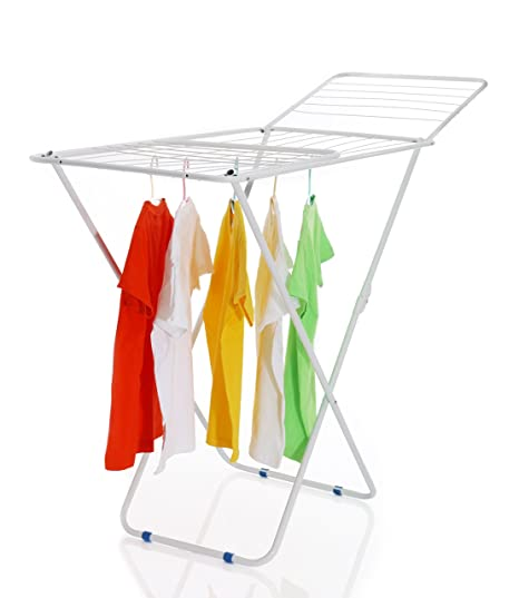 Vecelo Economic Clothes Drying Stand Indoor Outdoor Folding Drying