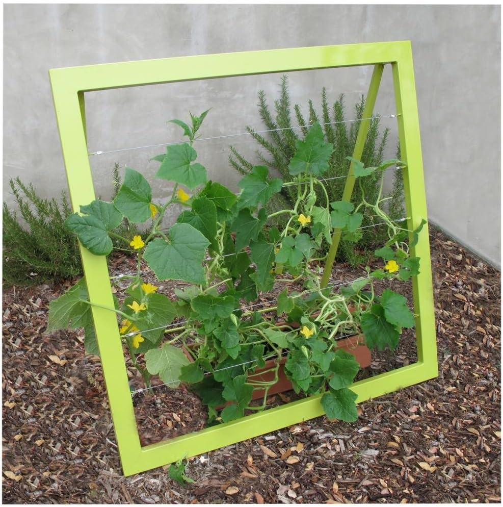 Terra Trellis - Mira Garden Trellis Jr (Leaf/Chartreuse)