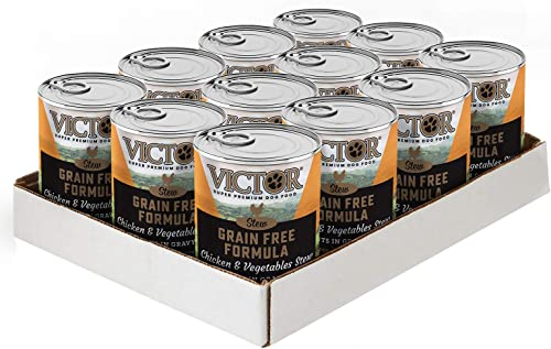 Victor Grain Free Cuts In Gravy With Chicken And Vegetables Dog Food – Canned, 12 13.2 Oz. Cans
