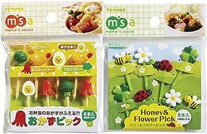 Torune Mama's Assist Food picks Bento Lunch 8 pieces 2 pack set