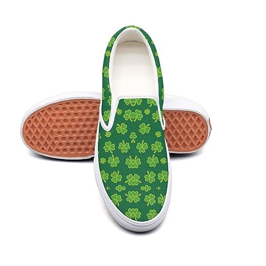 f7f227ffbfbd1 Amazon.com: St Patricks shamrock Walking Shoes for Women spring Wear ...