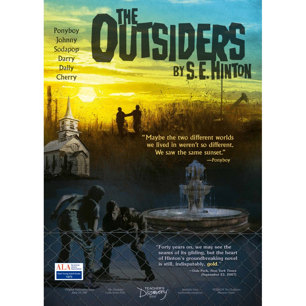 Amazon The Outsiders Marquee Poster Office Products
