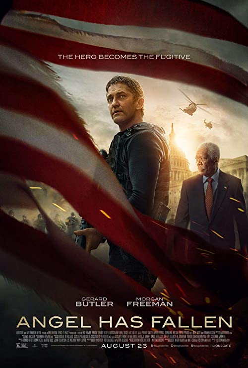 Lionbeen Angel Has Fallen - Movie Poster - Cartel de la ...