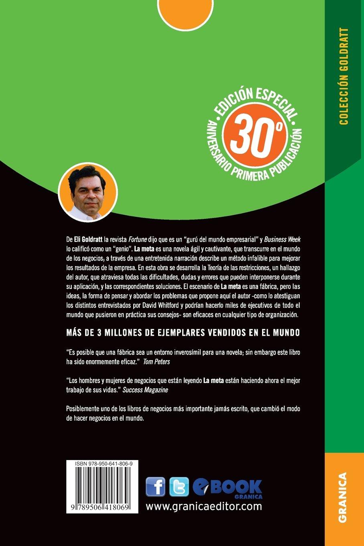La Meta Edici�n Aniversario (spanish Edition): Eliyahu M Goldratt:  9789506418069: Amazon: Books