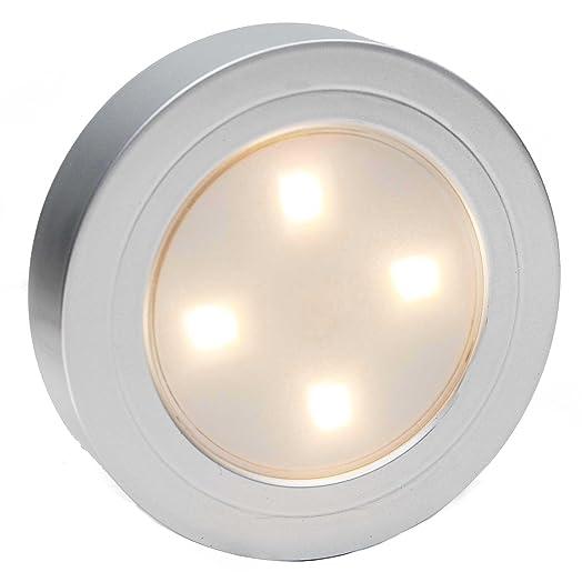 Closet Light LED Battery Operated Light Wireless Night Light Stick On Tap  Touch Push