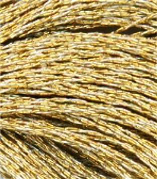 DMC Stranded Light Effect Thread E677 Metallic For Embroidery /& Cross stitch
