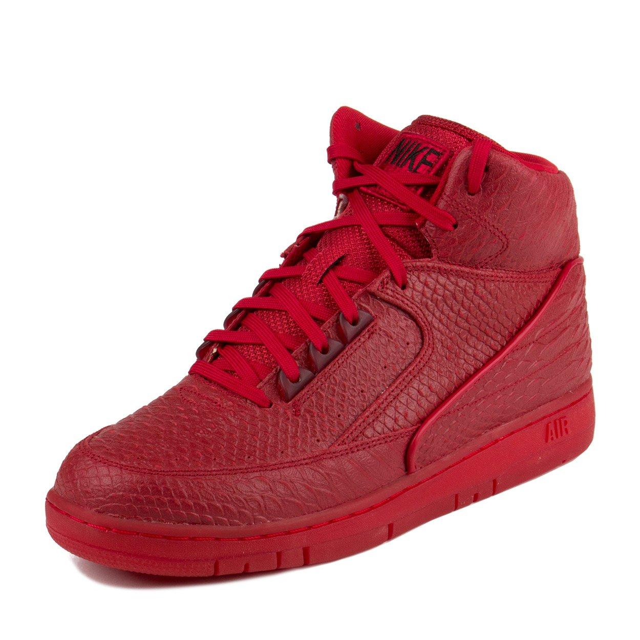 cc787fe84d421 Nike Mens Air Python Prm Gym Red/Black Basketball Shoe 8 Men US