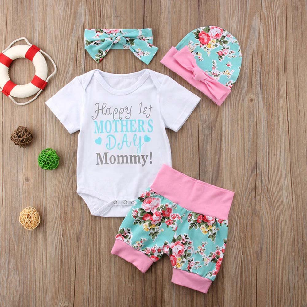 Amazon.com: fartido Pelele para bebé niña letra pantalones ...