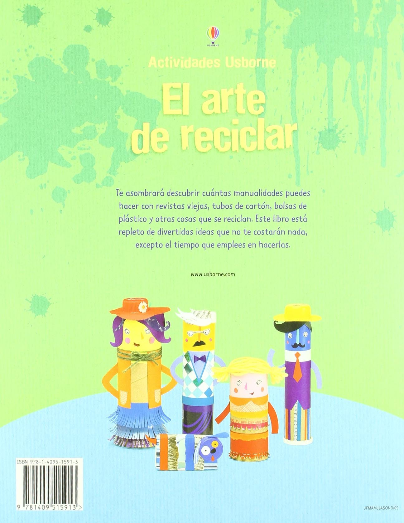 El arte de reciclar: Bone EMILY Y PRATT LEONI: 9781409515913 ...