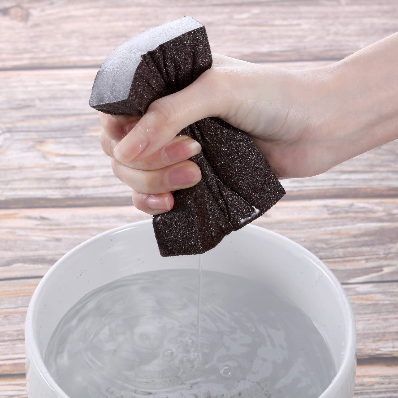 Washable and Reusable 8 Pieces Coarse Medium Fine Superfine Assortment Sanding Blocks M-Aimee Sanding Sponge