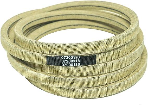 Ariens Genuine Oem Gravely Deck Belt 07200116 34 Zoom 34 Zt1334 1634 Garden Outdoor Amazon Com