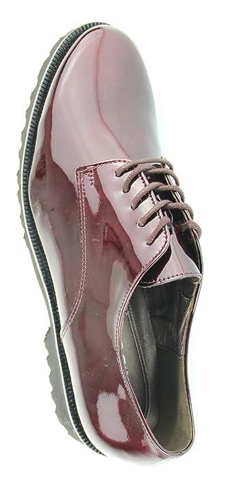 Gabor Fashion 31.412 Damen SchnürerHalbschuhe (Trotteur) Lack Leder