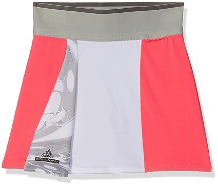 adidas G Skort Falda pantalón, niña, Rojo (rojdes/oysgre/Blanco ...