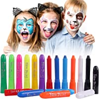 Set 6 Face Body Pintura Crayon Color Conjunto Kit Palos Fiesta Niños facial UV pintura BL