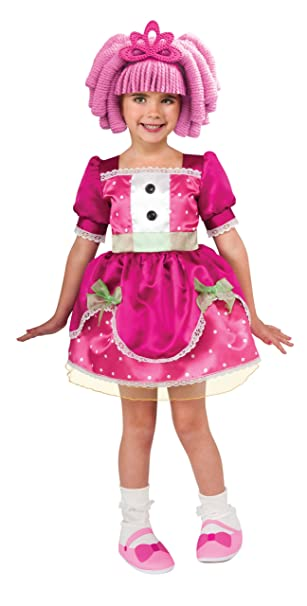 amazoncom big girls lalaloopsy jewel sparkles costume toddler us size 2 4 clothing