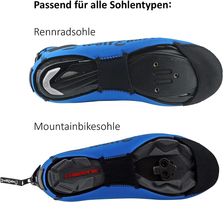 Zw/ölfender Classic Azul cubrezapatillas