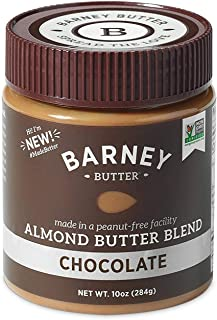 product image for BARNEY Almond Butter, Chocolate, Paleo Friendly, KETO, Non-GMO, Skin-Free, 10 Ounce