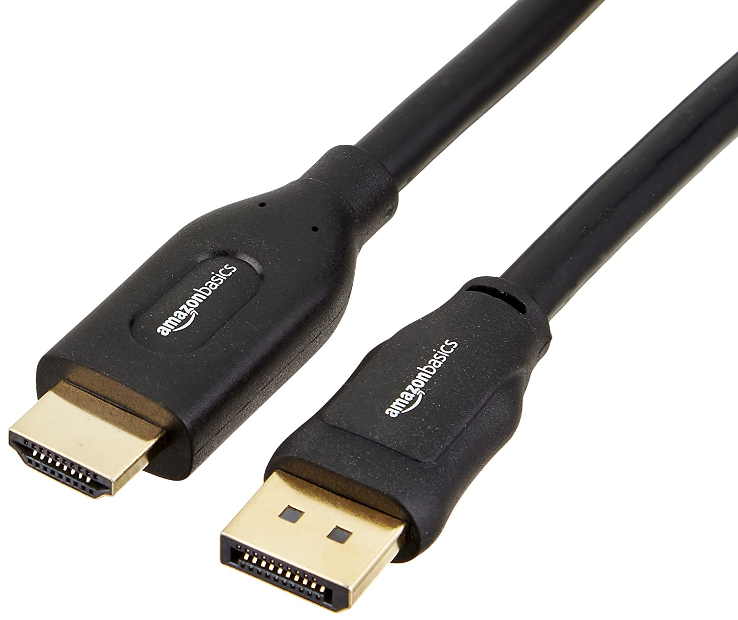AmazonBasics DisplayPort to HDMI Cable - 15 Feet