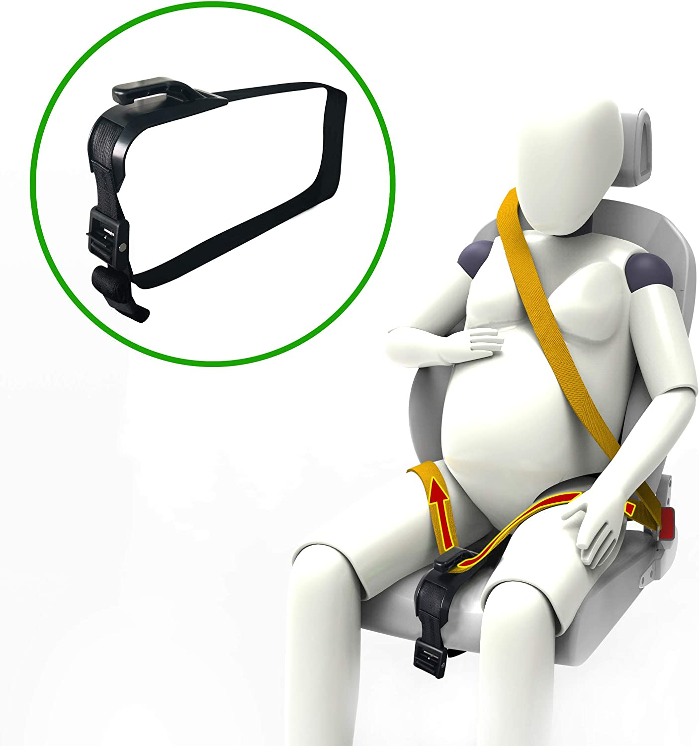 Pregnant Maternity Car Seat Belt Bump Adjustable Strap Safety For Pregnant UK