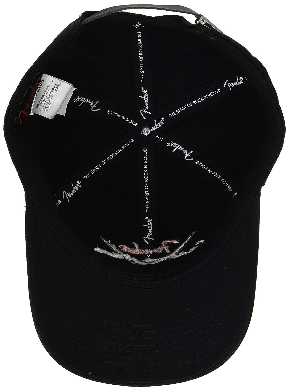 c61bde45a59 Amazon.com  Fender Custom Shop Baseball Hat - Black - One Size Fits Most   Musical Instruments