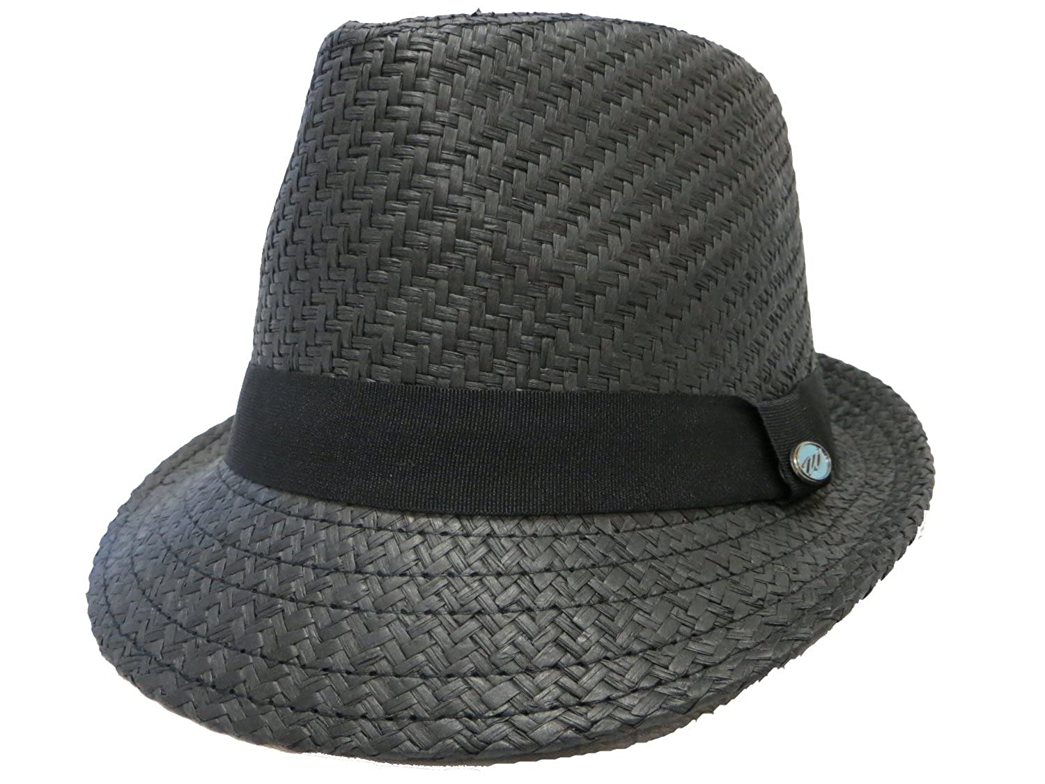 Fedora Wave   All Black   Tuff on Him Hot on Her at Amazon Men s Clothing  store  0dbe7a243ea