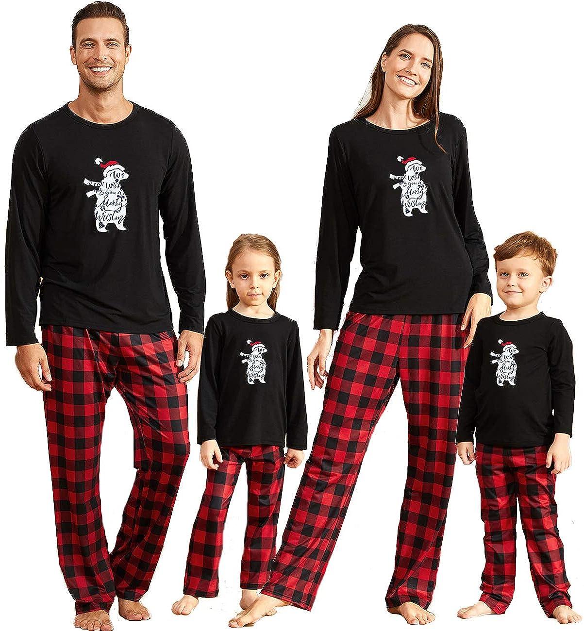 Best Mummy Ever Ever The End Pyjamas Ladies Tartan Trouser Bottoms Pyjama Family