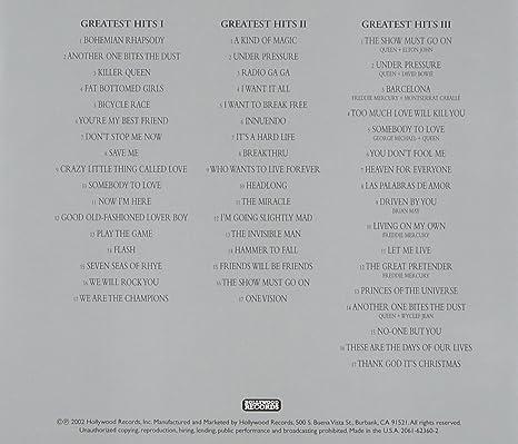 The Platinum Collection: Greatest Hits I, II & III