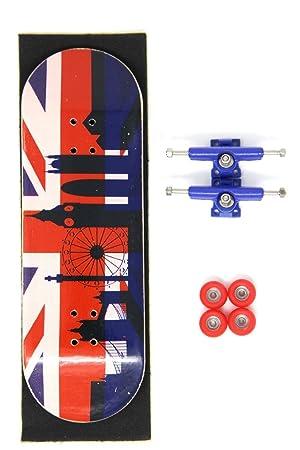 32MM Skull Fingerboards H2O Complete Wooden Fingerboard Bearing Wheels