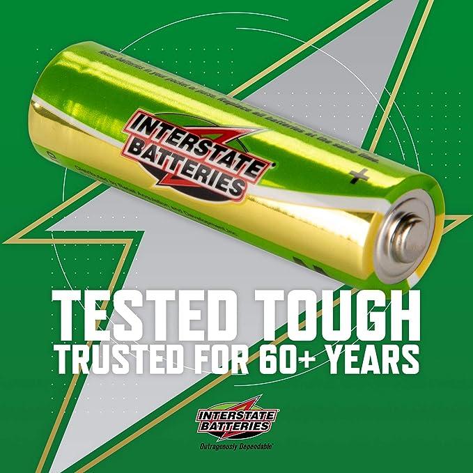 Interstate Batteries AAA Battery Alkaline 100 Pack /… DRY7003 Workaholic