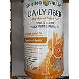 Spring Valley Daily Fiber Digestive Health, Orange Smooth, 48.2 oz