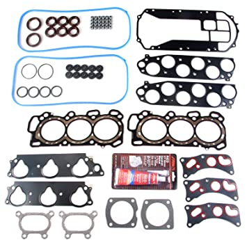 cciyu Head Gasket Kit for Acura TL Pilot Honda Odyssey Ridgeline 2003-2010 Replacement fit for HS26265PT Head Gaskets Set Kits