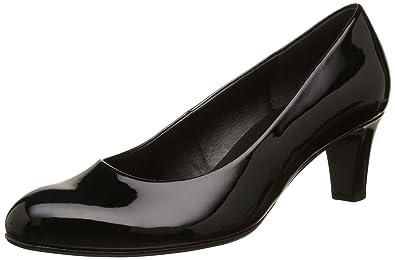 Gabor Basic, Zapatos de Tacón para Mujer, Blanco (Weiss+Absatz), 38.5 EU Gabor