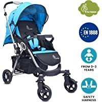 R for Rabbit Chocolate Ride - The Designer Stroller/Pram (Blue)