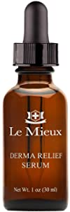 Le Mieux Derma Relief Serum - Hydrating Oil Serum for Face with Ceramides, Squalane & Kukui, No Parabens or Sulfates (1 oz / 30 ml)