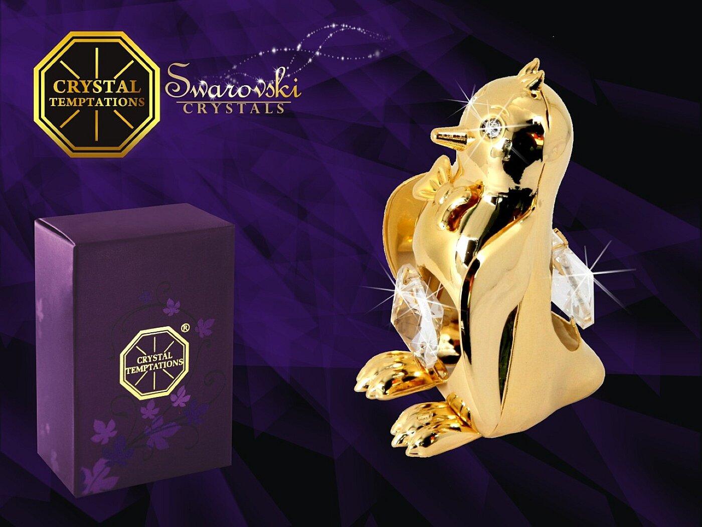 GERMANY CRYSTAL TEMPTATIONS - Pinguino con cristalli Swarovski