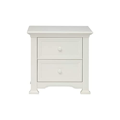 Centennial Medford 2 Drawer Nightstand White