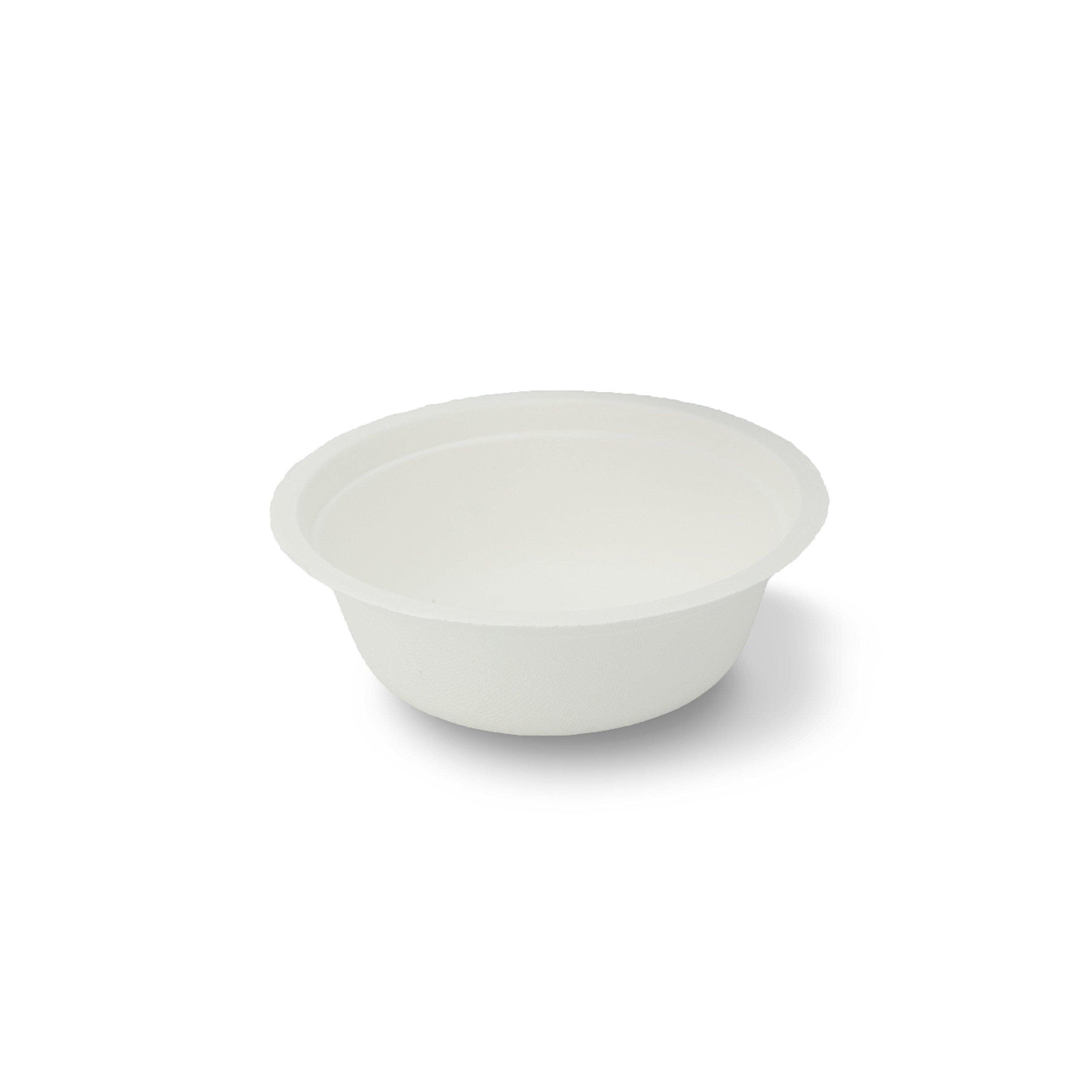 Stalkmarket 100% Compostable Sugar Cane Fiber Soup Bowl, 12-Ounce, 500-Count Case