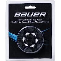 Franklin Electronics Bauer sliv vver–Roller Hockey Puck Negro