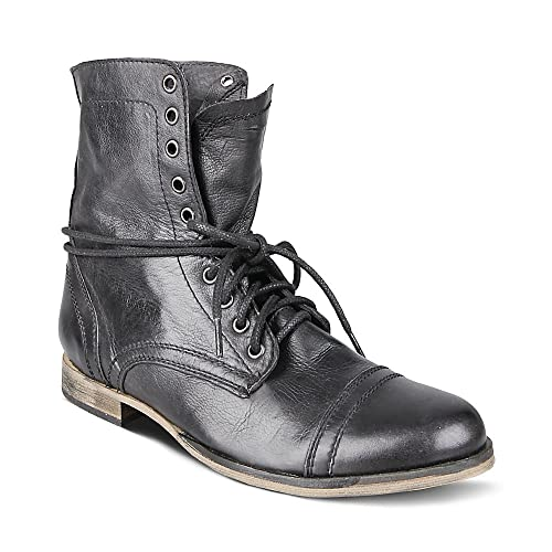 691b1696b5c Steve Madden Men's Troopah Lace-Up Boot
