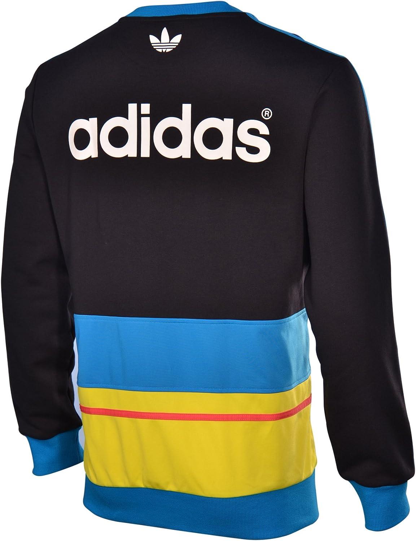adidas Men's The C90 Art Crewneck Sweatshirt Extra Large