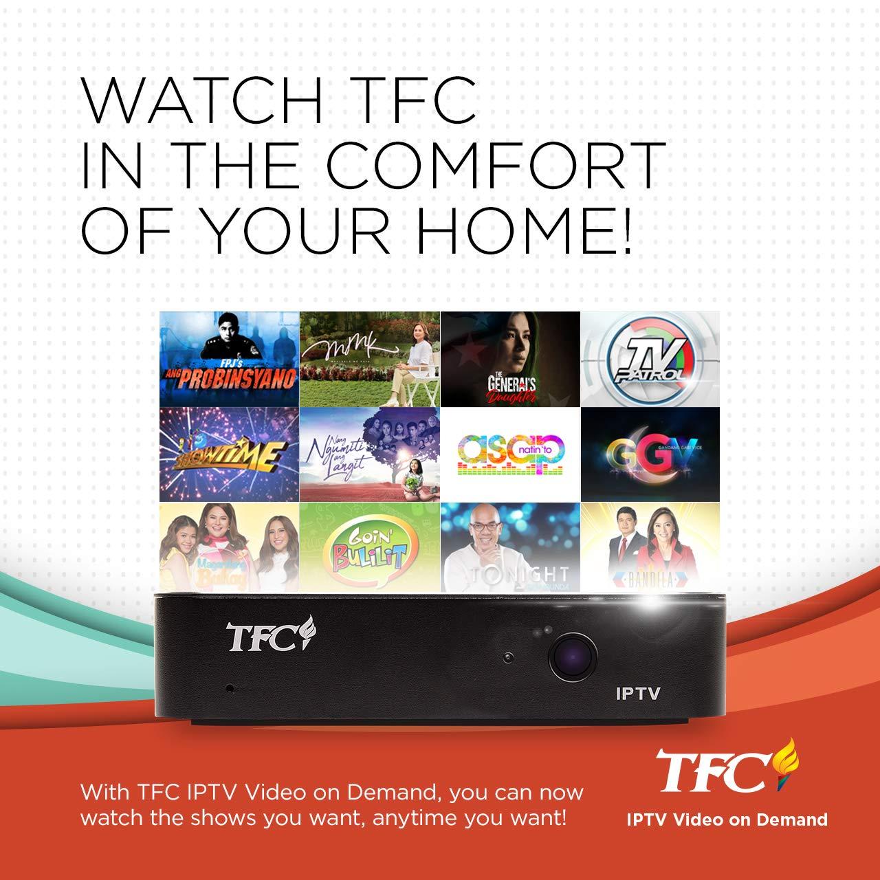 TFC IPTV Set-Top Box PREPAID Premium Package